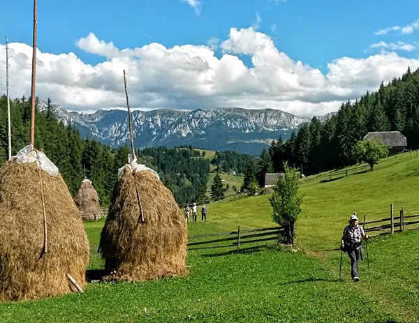 unguided rambling and trekking in romania
