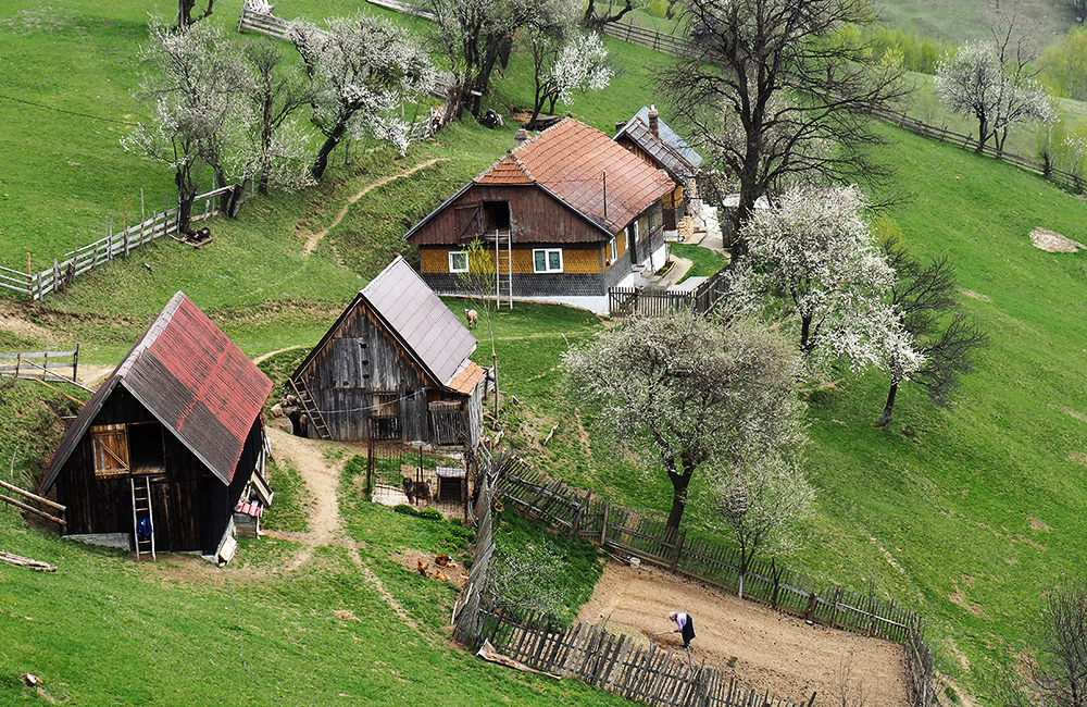 unguided inn to inn trekking in romania
