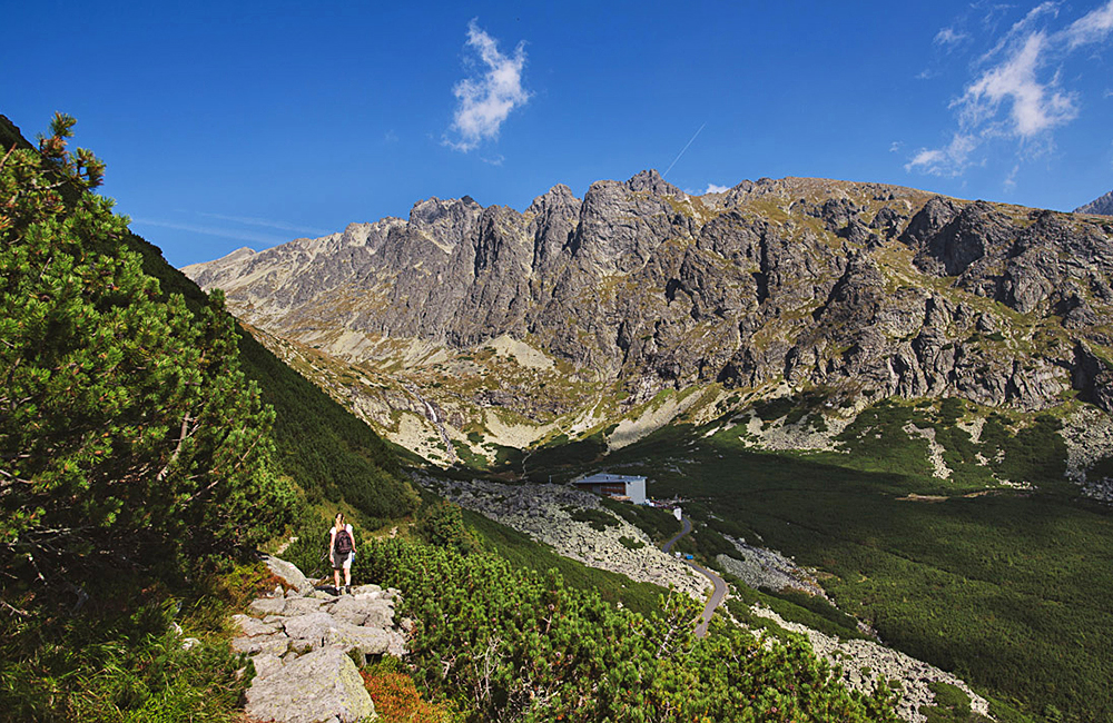 unguided trekking in the high tatra mountains of slovakia