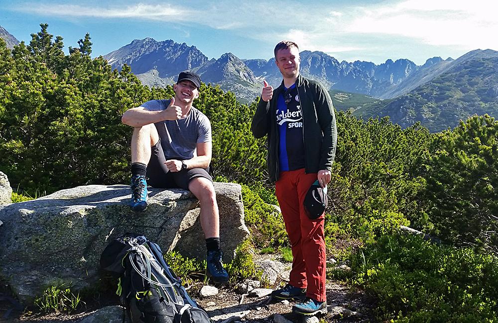 trekking holidays in the high tatras in slovakia