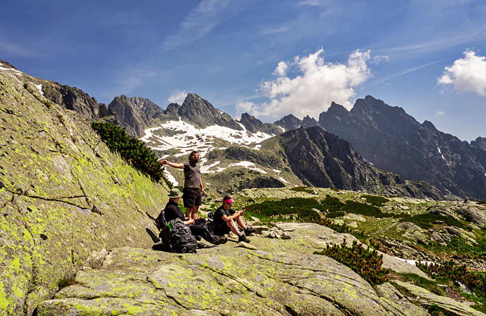 high tatras independent walking tour in slovakia