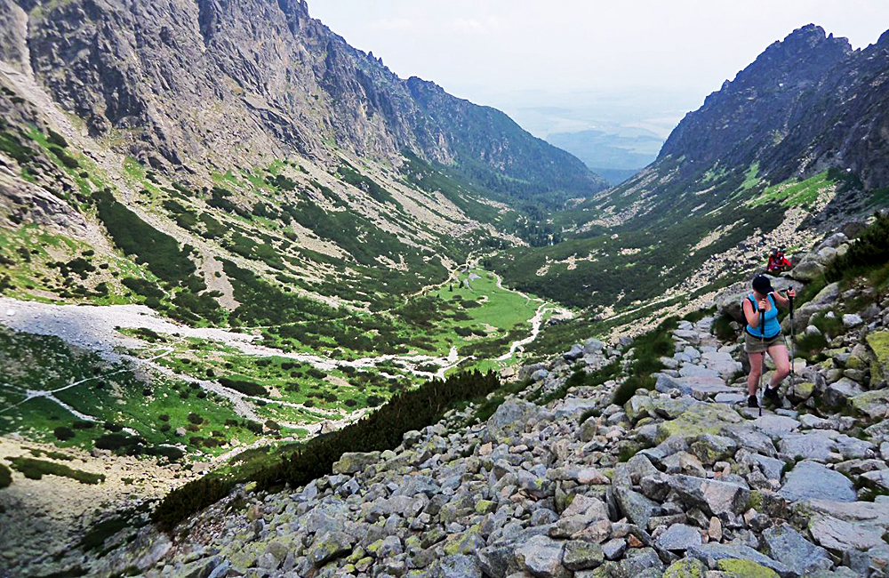 high tatras self-guided rambling tour in slovakia