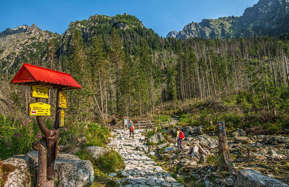 high tatras self-guided walking tour in slovakia