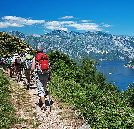 independent hiking and trekking tours in montenegro, durmitor and kotor