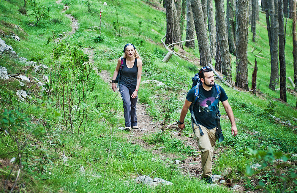 independent walking and trekking tours in montenegro