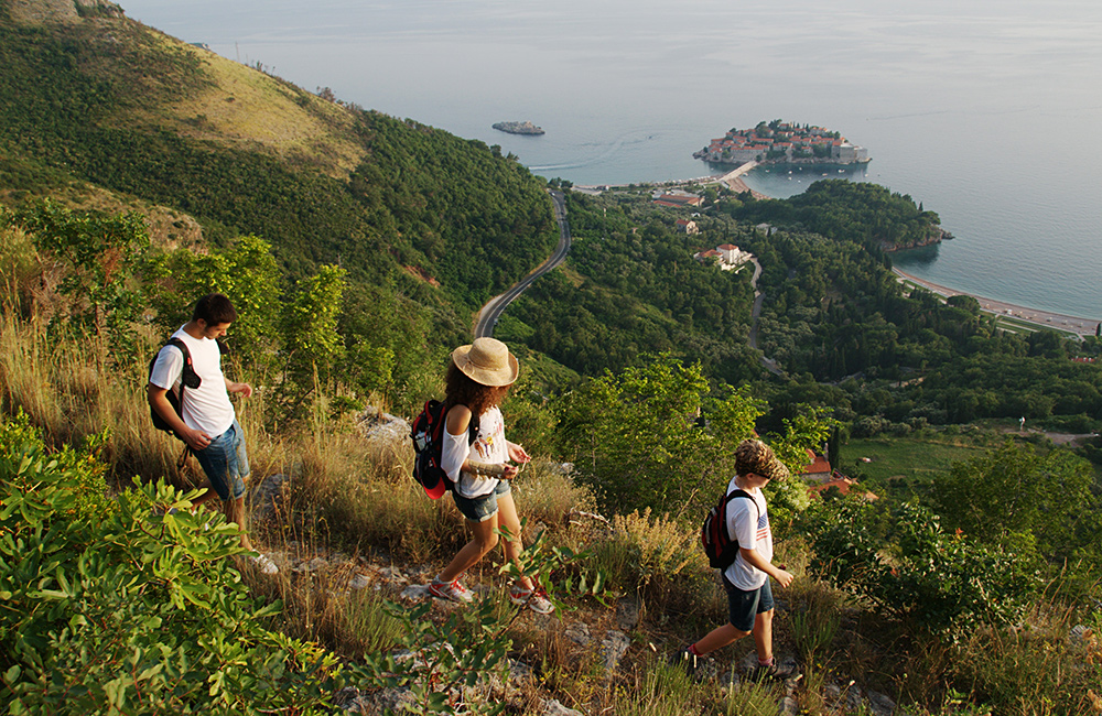 montenegro self-guided walking vacations