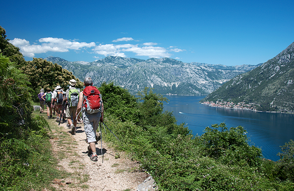 self-guided trekking tours in montenegro