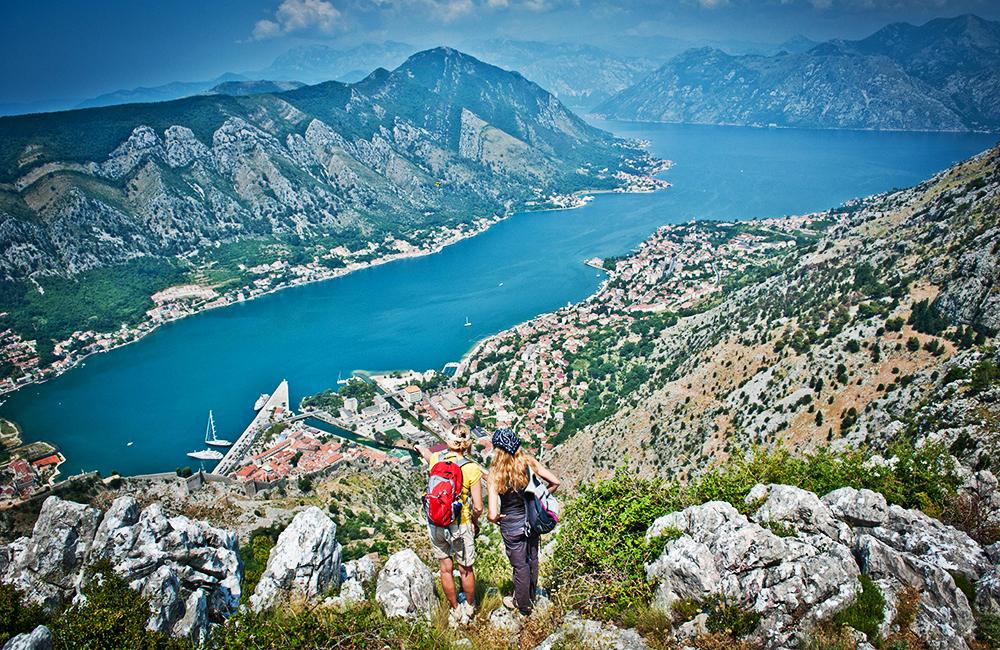 walking and rambling holidays in montenegro around the bay of kotor