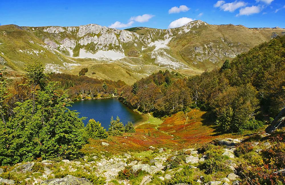hiking and walking in biogradska gora, montenegro