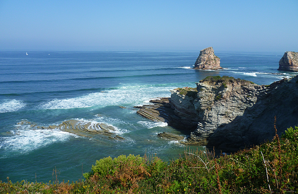 unguided walking in french basque country