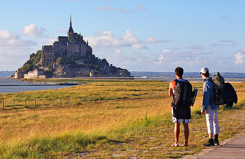 brittany independent trekking in france