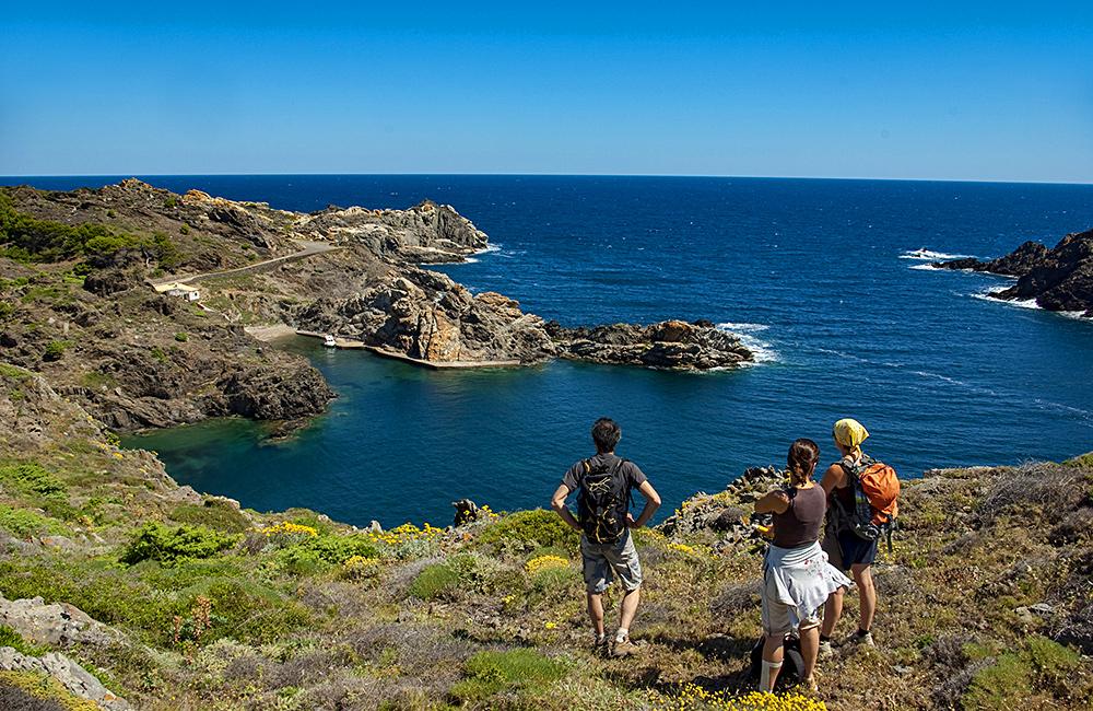 vermillion coast self-guided walking tour