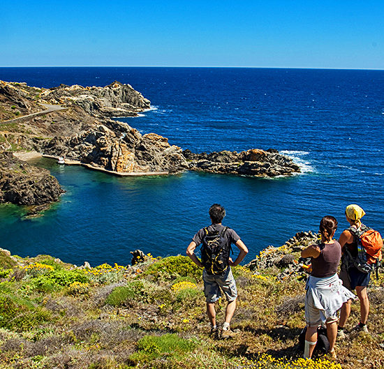vermillion coast self-guided hiking in france and spain