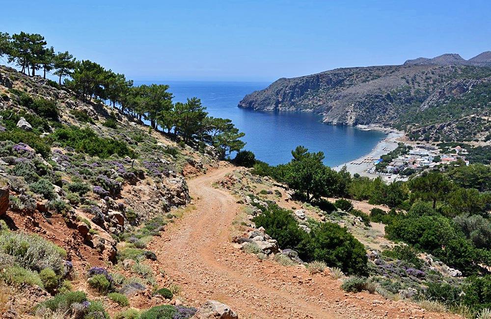 crete unguided hiking tour