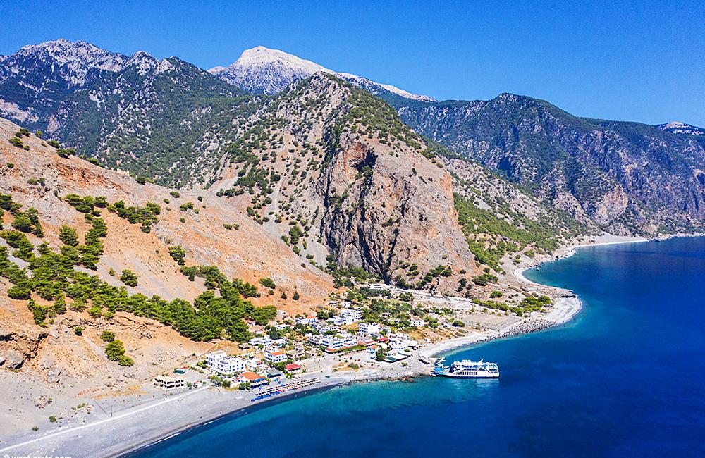 crete independent hiking tour