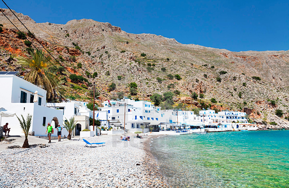 crete inn to inn trekking tour