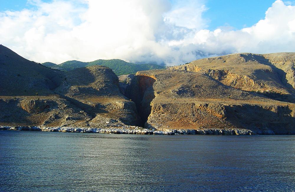 independent walking and trekking in crete, greece