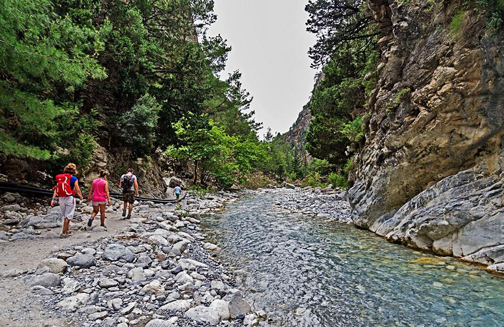 crete self-guided trekking vacations