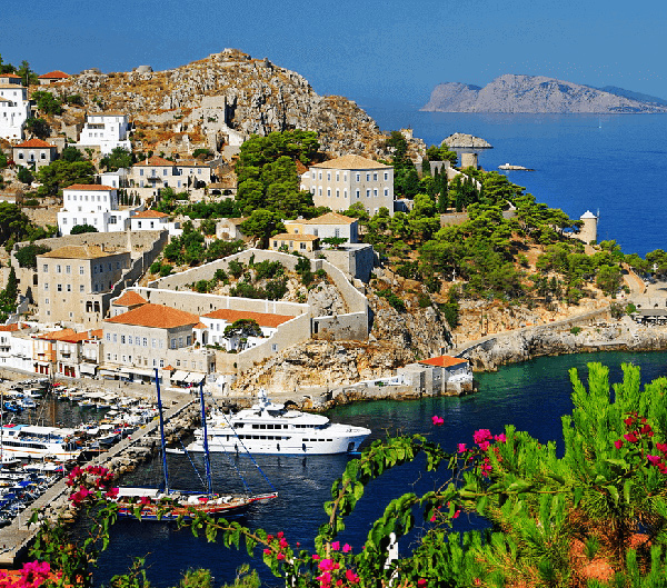 hydra island self-guided walking tour
