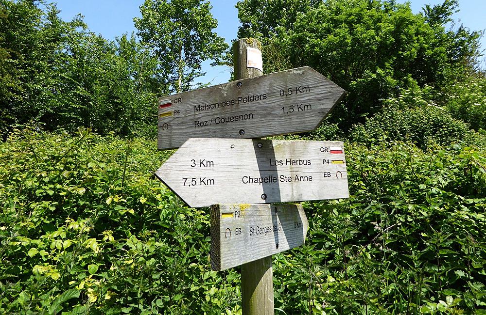 emerald coast self-guided hiking in france