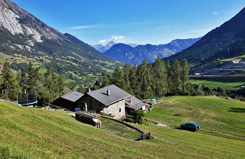 via francigena independent hiking in switzerland