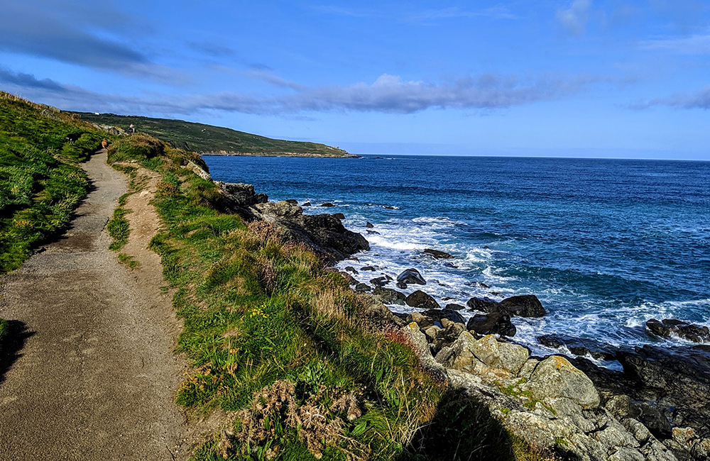 south west coast path independent walking england