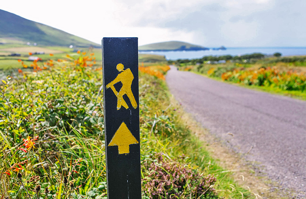 dingle way independent trekking and hiking tours in ireland