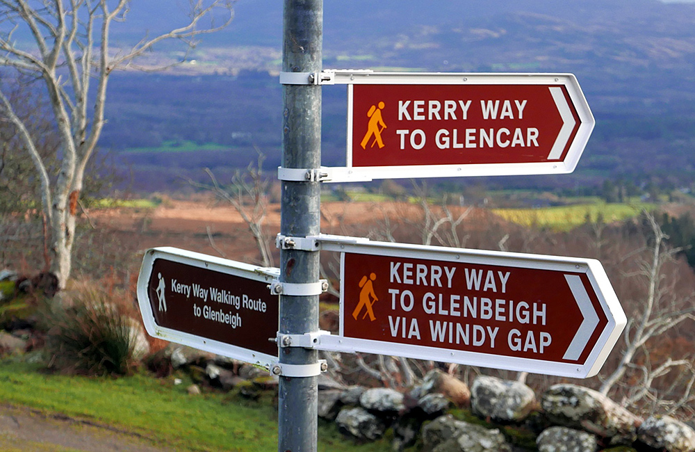 kerry way self-guided walking and trekking tours