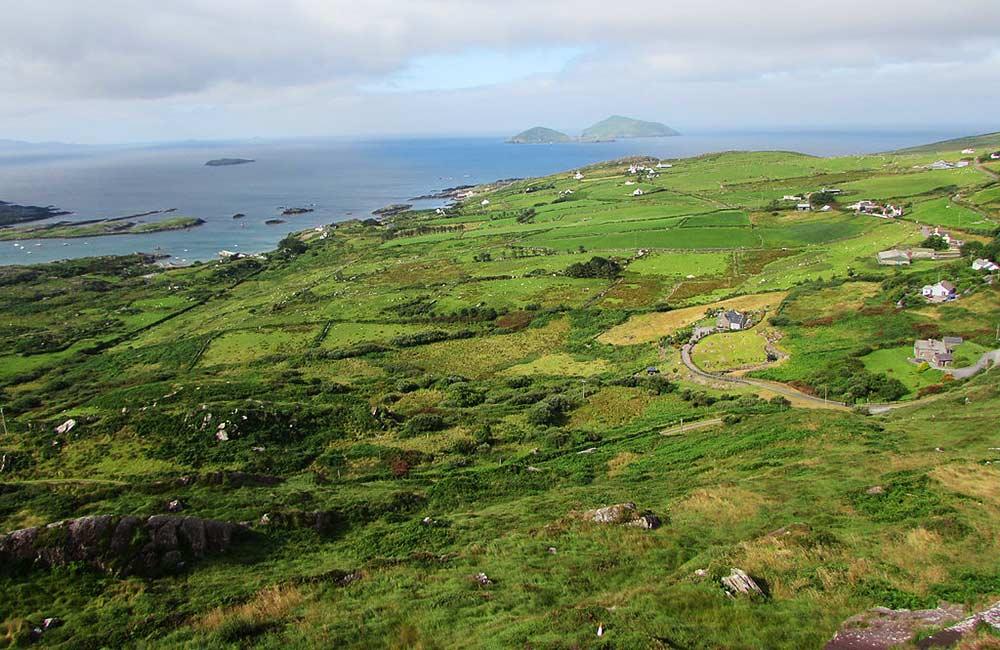 inn to inn walking tour in ireland, kerry way