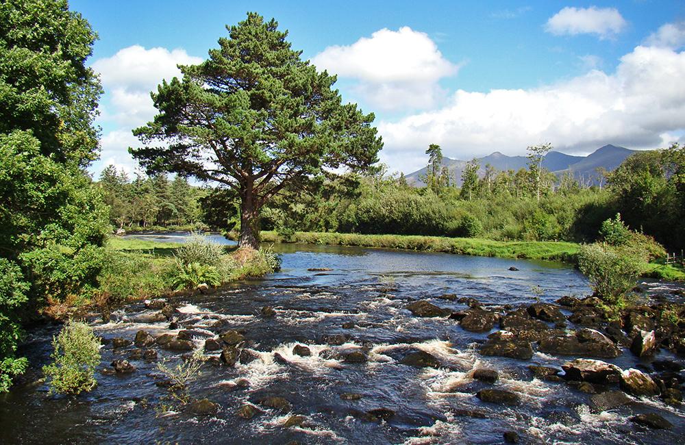 inn to inn unguided walking tours in ireland