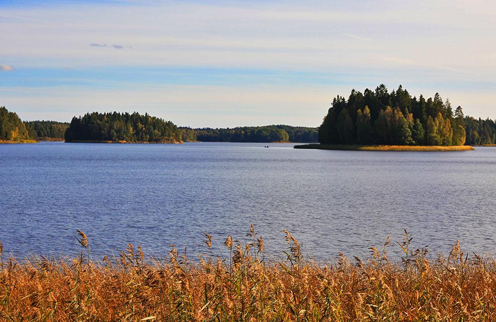 sörmlandsleden unguided trekking near stockholm