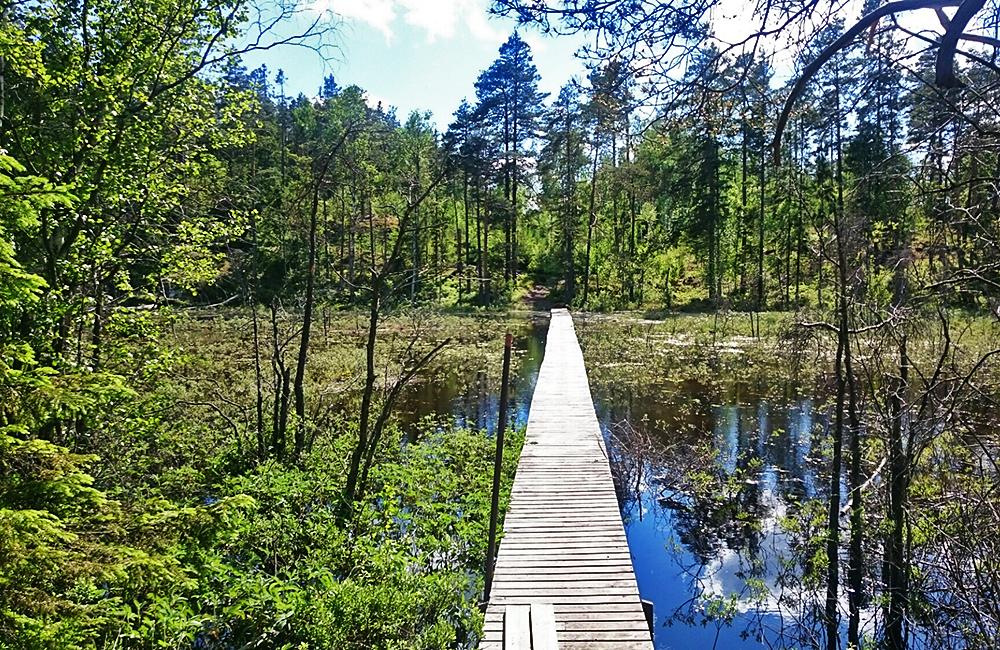 sörmlandsleden inn to inn trekking in sweden