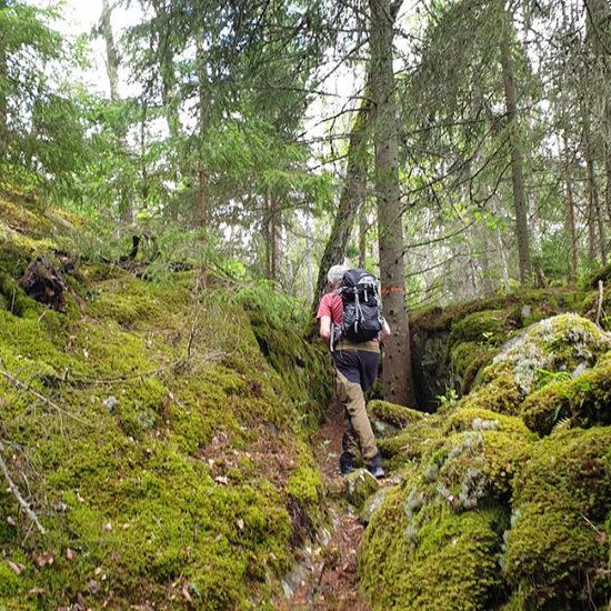 sörmlandsleden self-guided trekking near stockholm, sweden