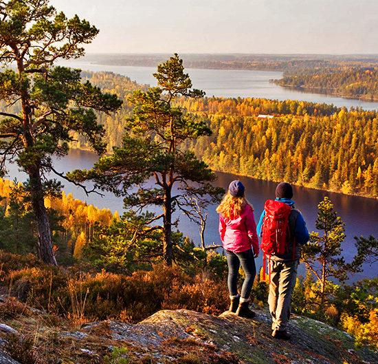 sörmlandsleden self-guided hiking near stockholm