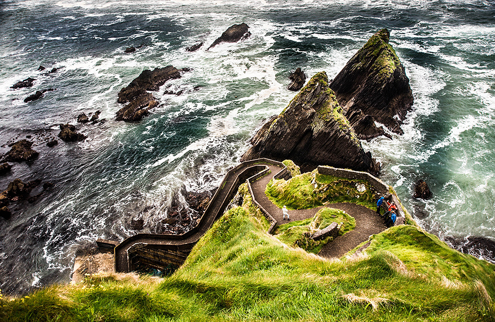 ireland self-guided trekking tours, dingle way
