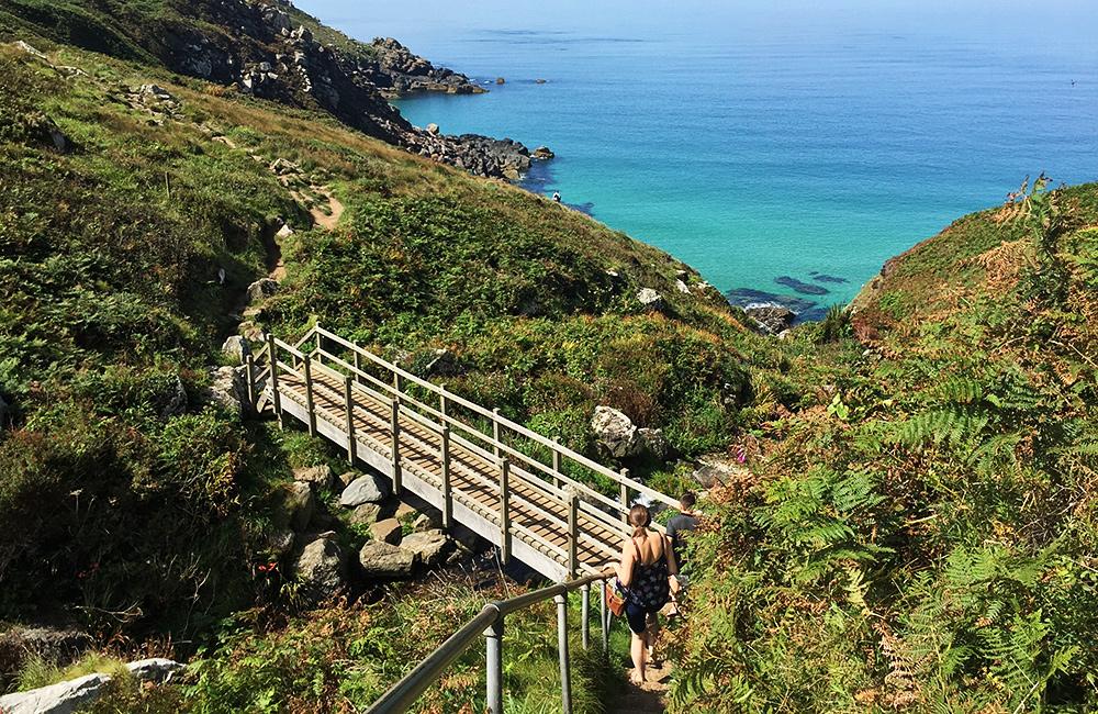 south west coast path independent trekking england