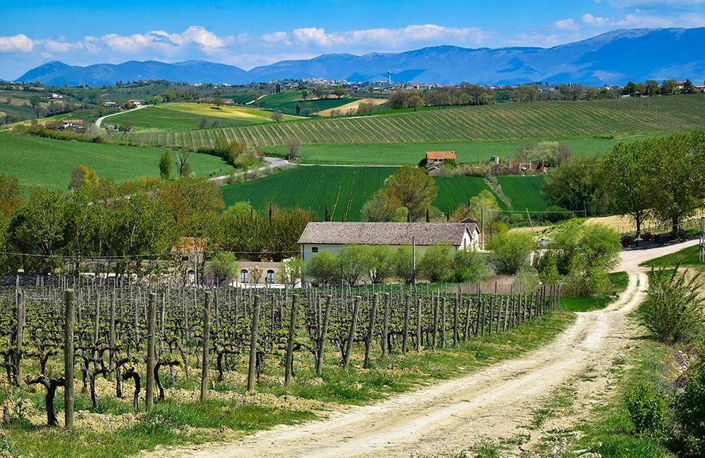 via francigena self-guided walking and hiking in umbria