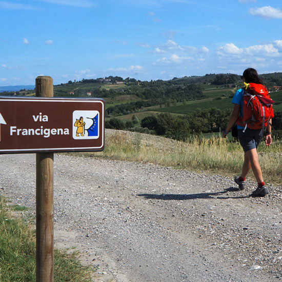 via francigena inn to inn walking in umbria
