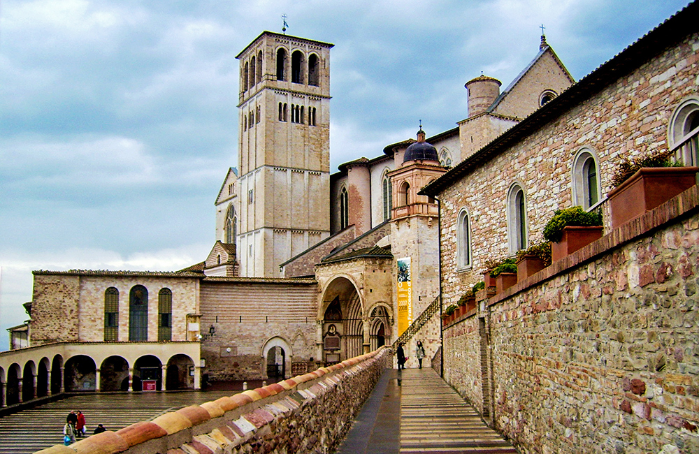 st francis way self-guided walking in umbria
