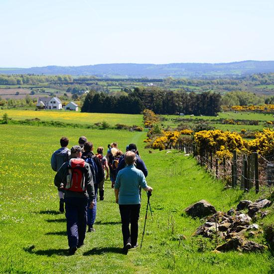 wicklow way self-guided trekking in ireland