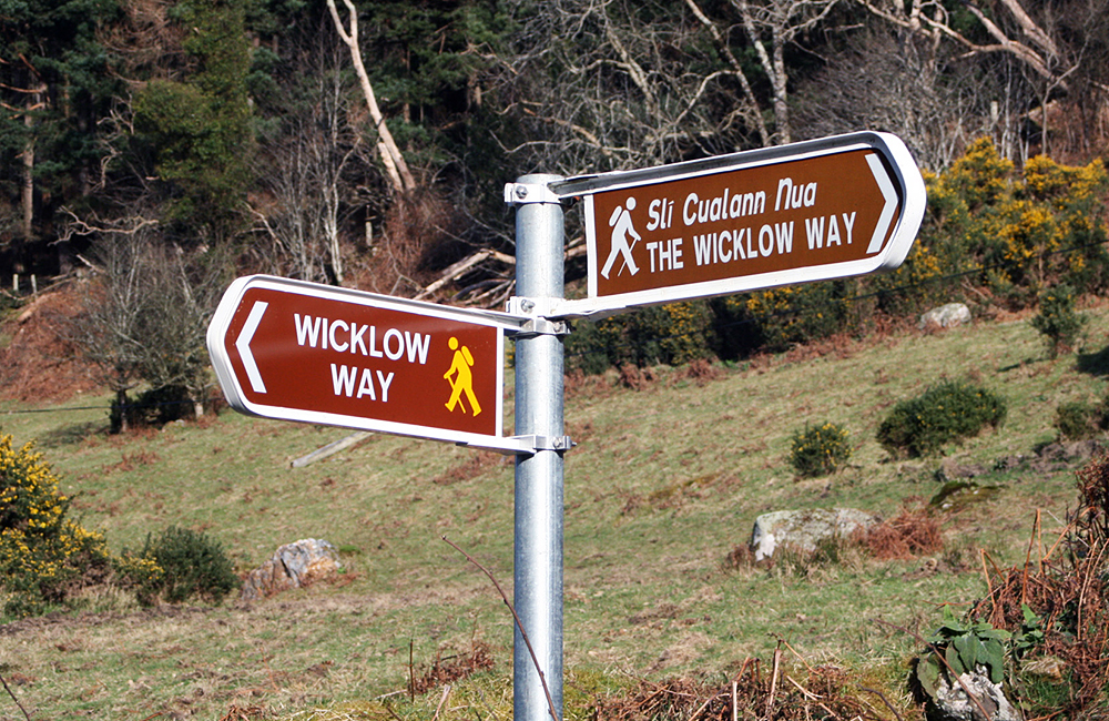 wicklow way self-guided hiking in ireland