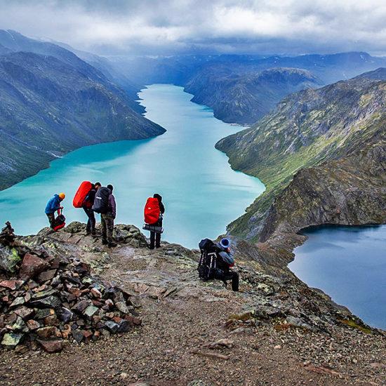 jotunheimen independent trekking tours,norway
