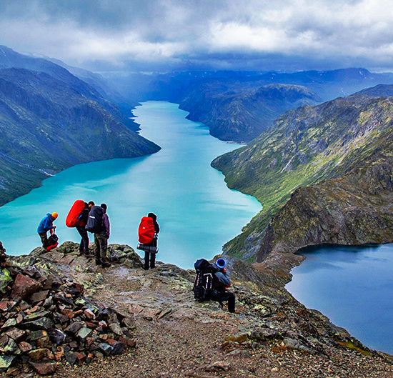 jotunheimen self-guided trekking in norway