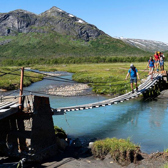 jotunheimen self-guided trekking tours, norway
