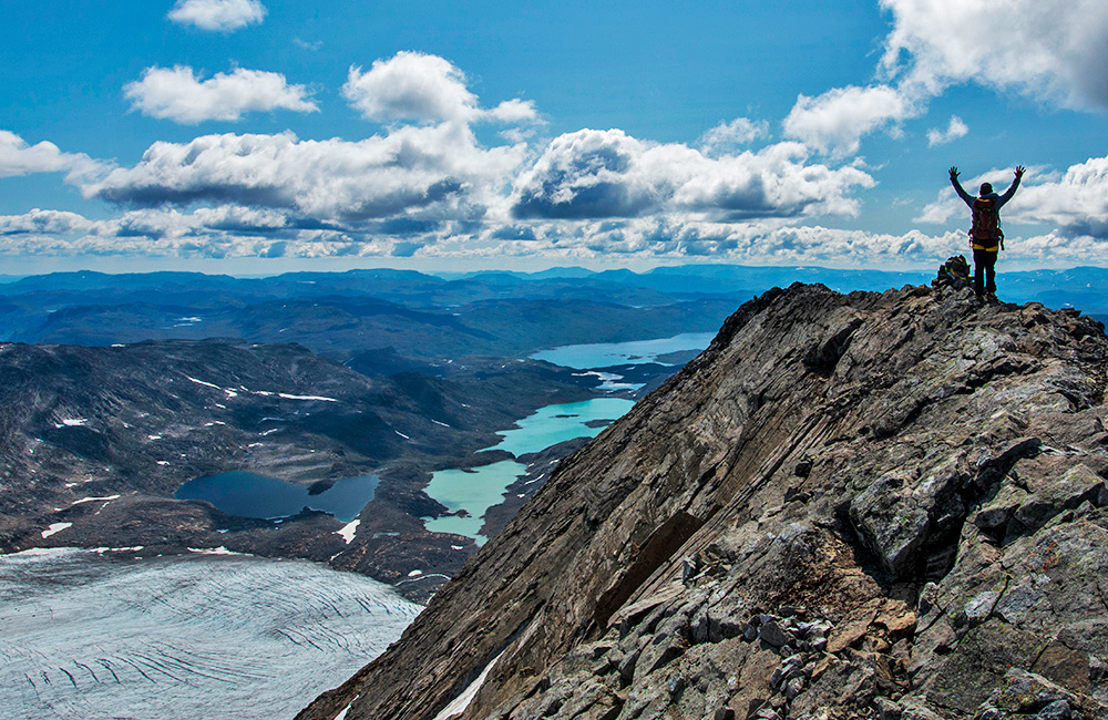 jotunheimen self-guided walking and hiking tours, norway