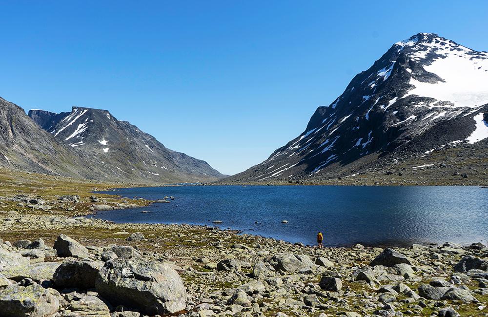 jotunheimen unguided trekking tours, norway