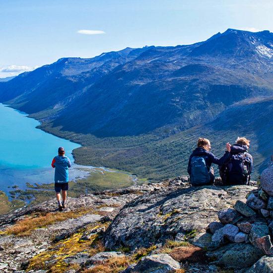 norway self-guided trekking in jotunheimen