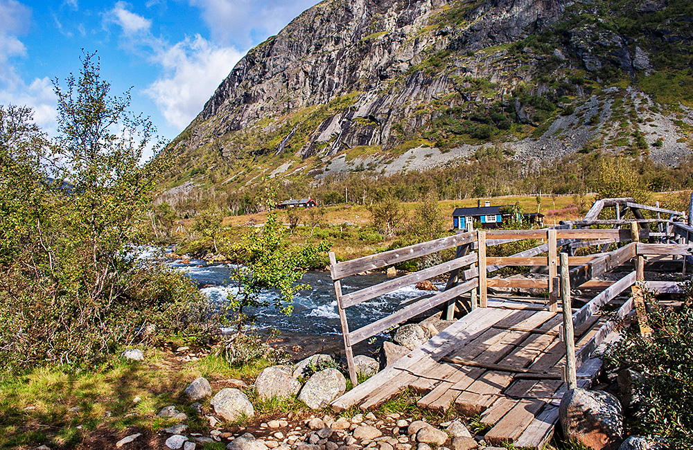 norway unguided trekking tours in jotunheimen
