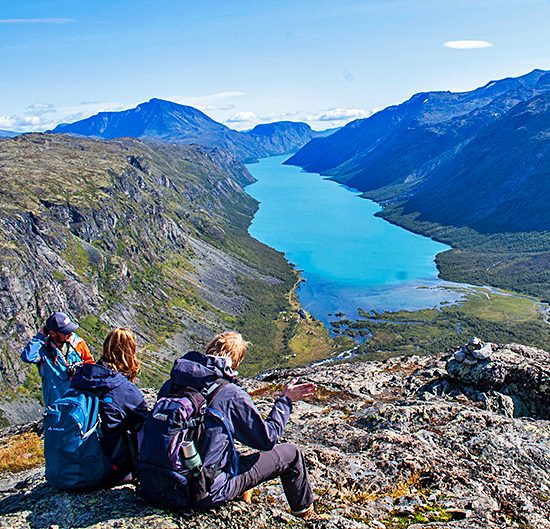 norway independent trekking and hiking tours