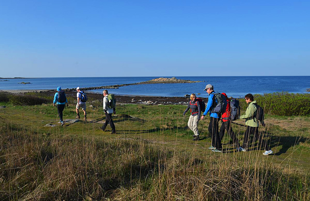 independent walking and hiking tours in halland, sweden